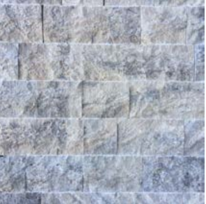 Silver Riven Travertine Cladding